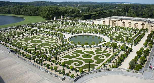 Vue g n rale bienvenue au ch teau de versailles for Architecte jardin versailles