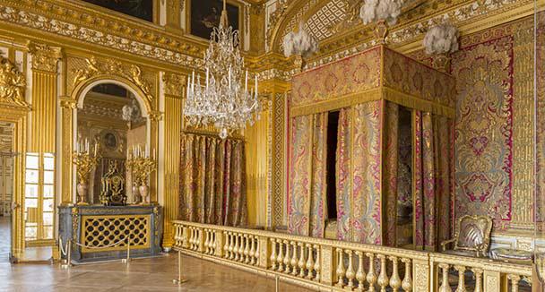 La chambre a coucher de louis xiv for Chambre de parade