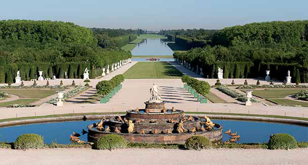 the gardens wel e to the palace of versailles