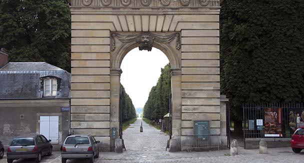 Acc s au parc bienvenue au ch teau de versailles for Porte saint antoine