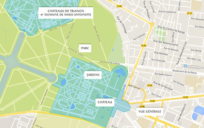 Map Of France Versailles.Welcome To The Palace Of Versailles Interactive Map
